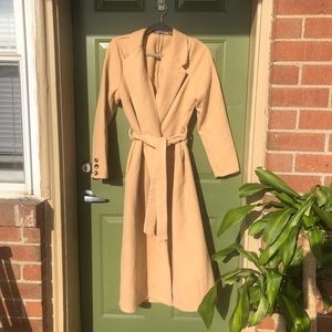Justfab Trench Belted Coat